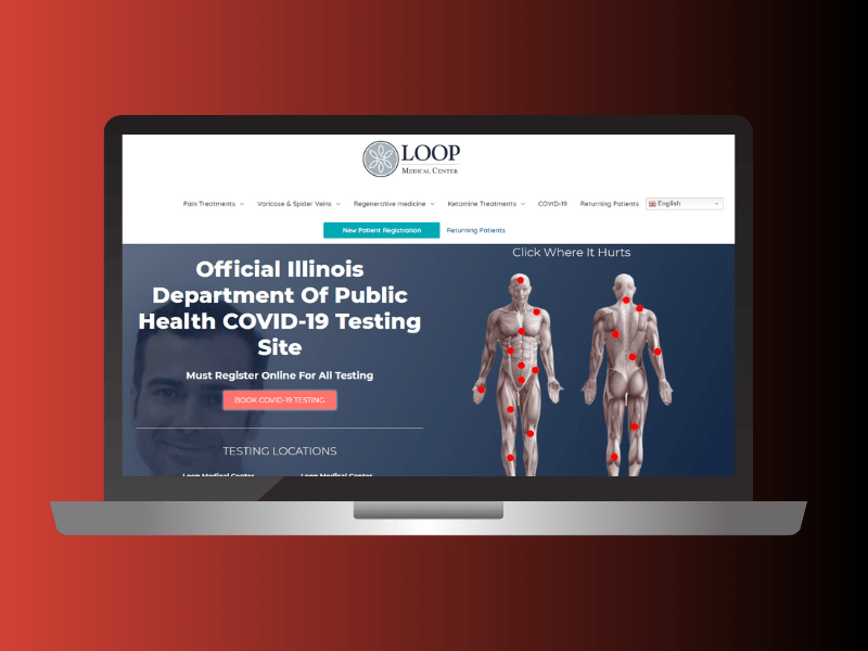 Webdesign-loop-medical