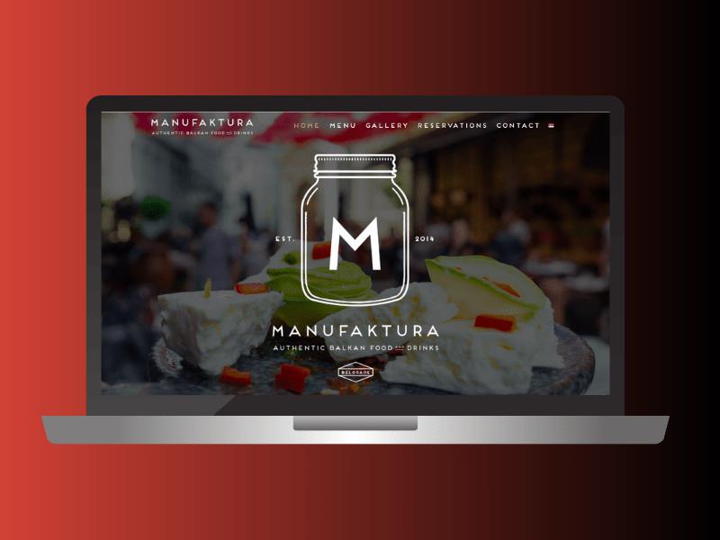Webdesign-restoran-manufaktura