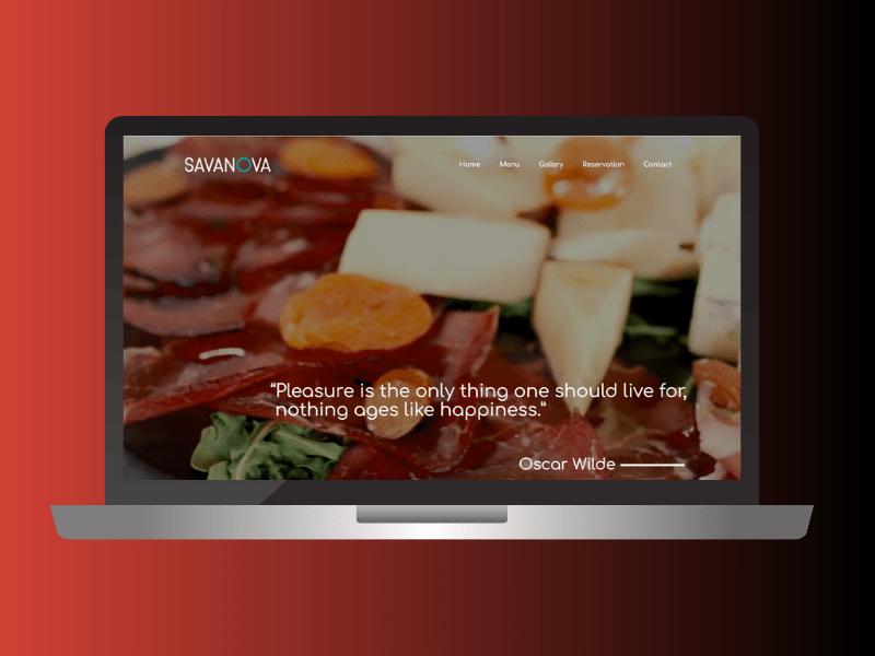 Webdesign-savanova-restoran